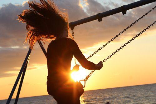 Libertà emozionale altalena